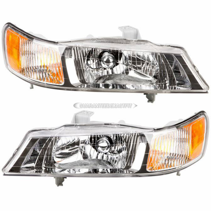 2000 Honda Odyssey Headlight Embly Pair