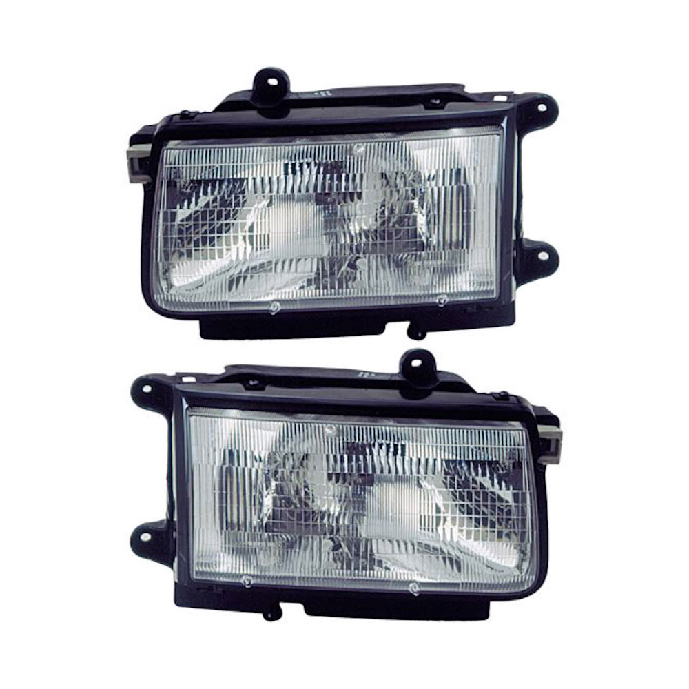 Isuzu Headlight Assembly Pair - OEM & Aftermarket