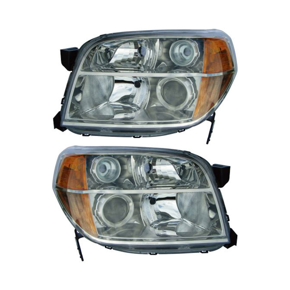 BuyAutoParts 16-80550A9 Headlight Assembly Pair