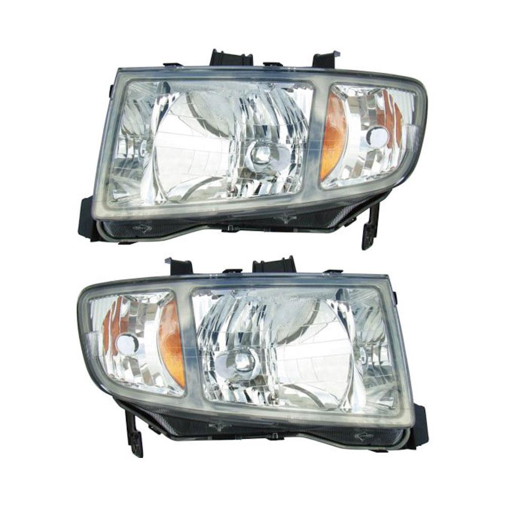 Honda Ridgeline Headlight Assembly Pair