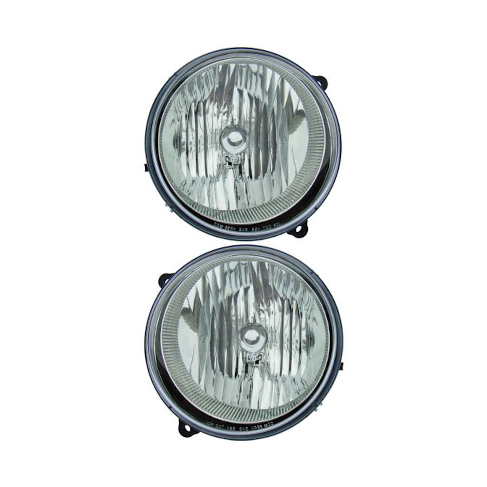Headlight Assembly Pair 16-80588 A9