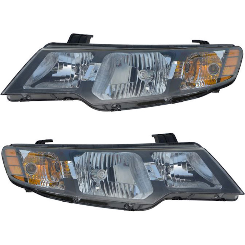 2010 kia forte headlight assembly pair pair of headlight. Black Bedroom Furniture Sets. Home Design Ideas