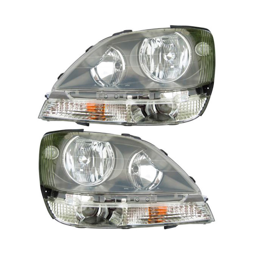 2000 lexus rx300 headlight assembly replacement