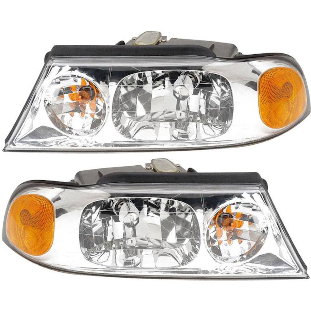 Lincoln Navigator Headlight Assembly Pair