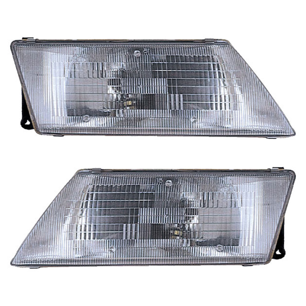 Nissan 200SX Headlight Assembly Pair