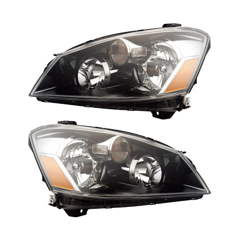 Headlights For 2006 Nissan Altima: 2006 Nissan Altima Headlight Assembly Pair Pair Of