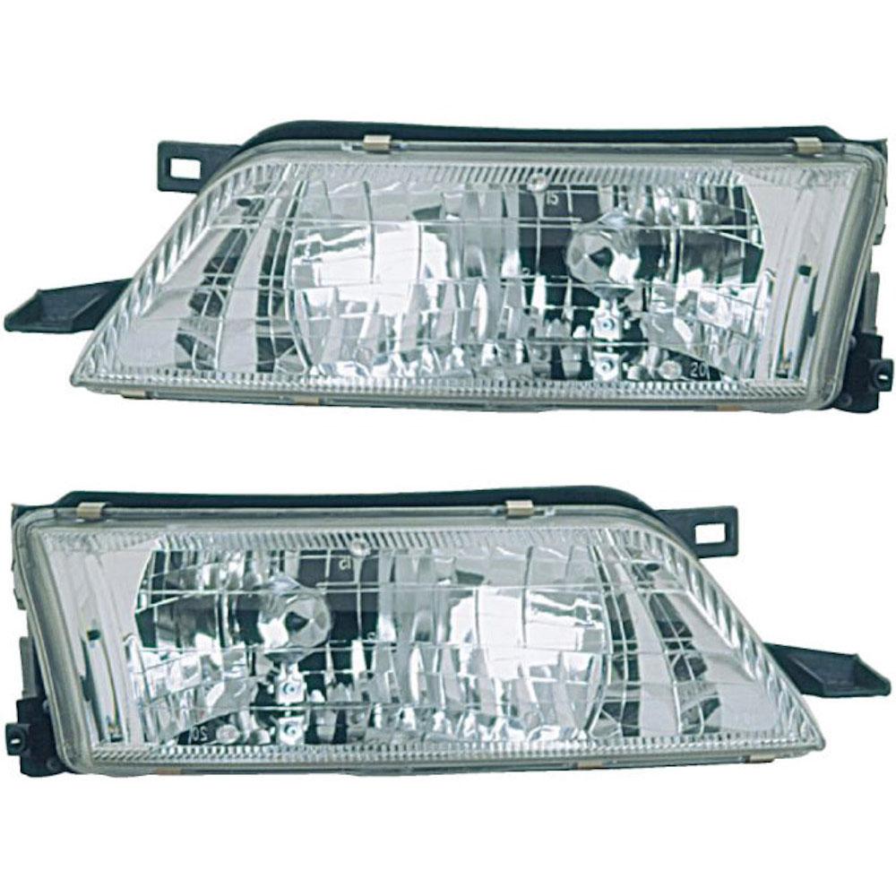 Nissan Maxima Headlight Assembly Pair
