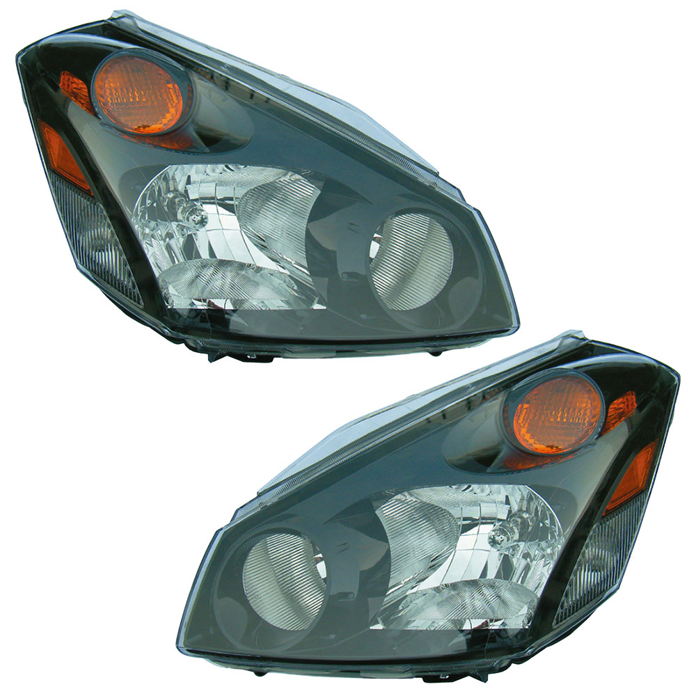 2007 Nissan Quest Headlight Assembly Pair Pair Of