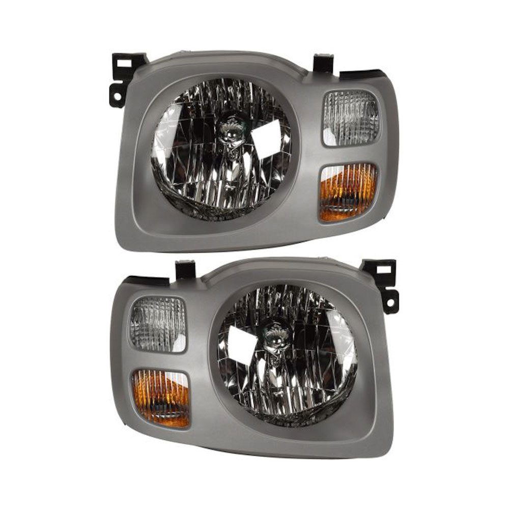 Nissan Xterra Headlight Assembly Pair