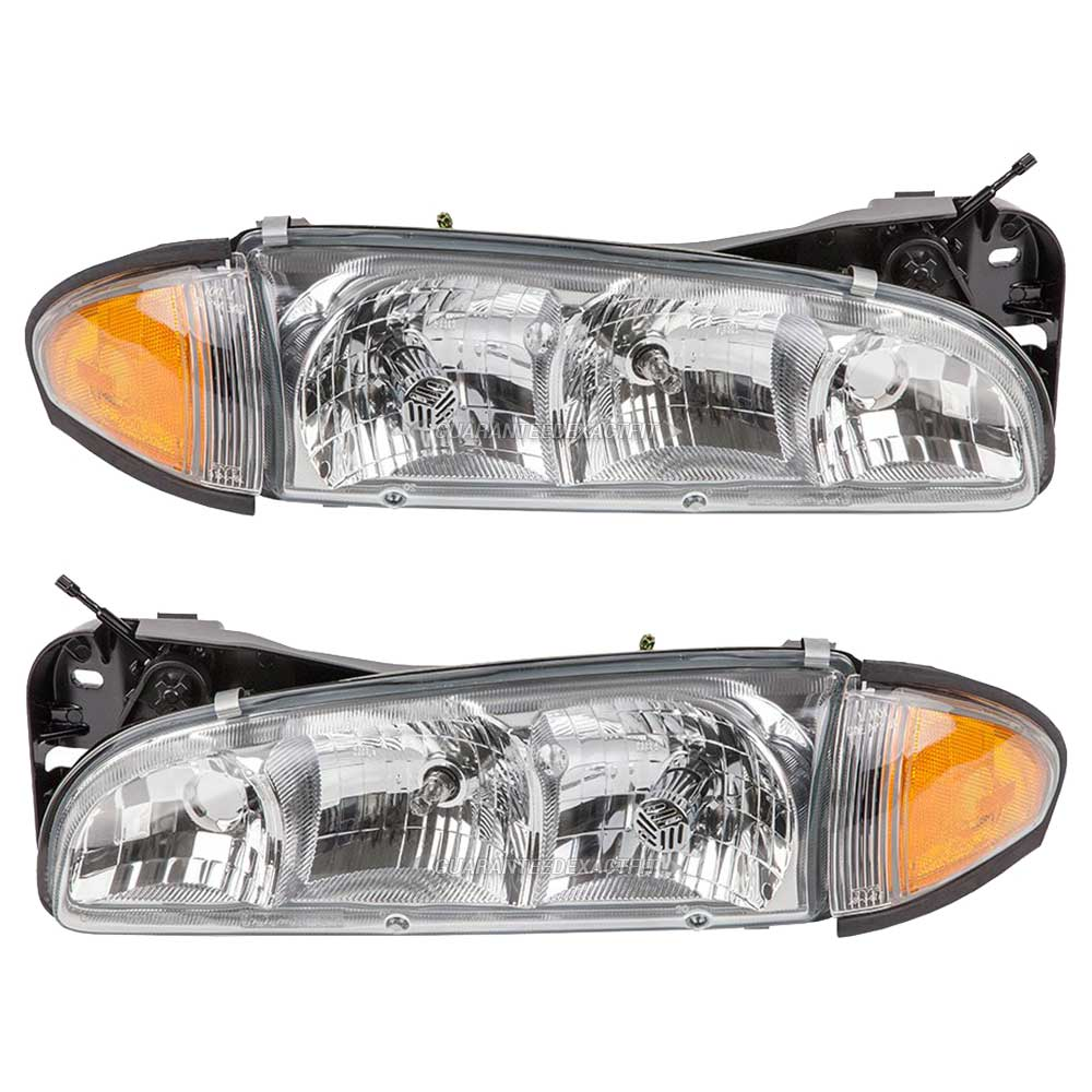 Pontiac Bonneville Headlight Embly Pair