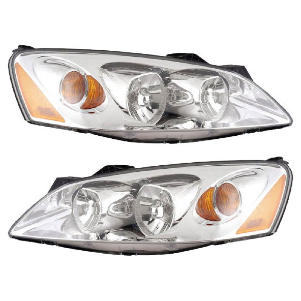 Pontiac G6 Headlight Embly Pair