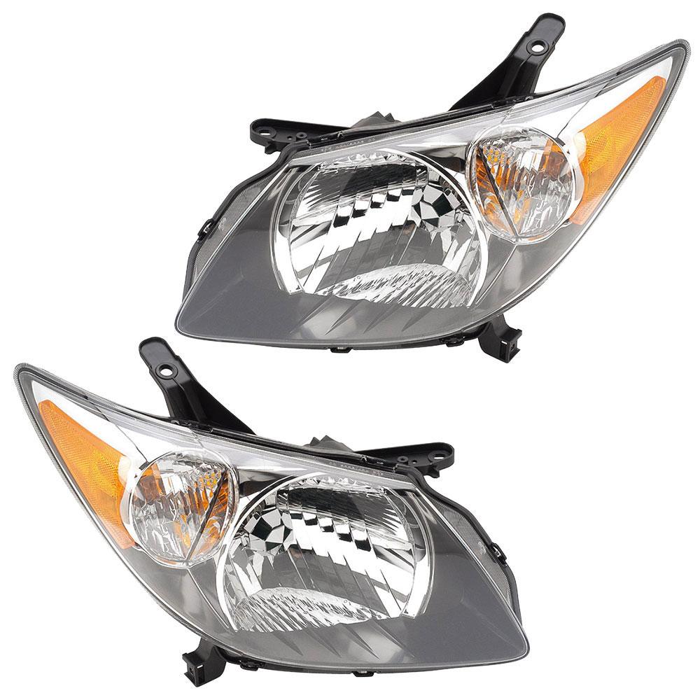 Pontiac Vibe Headlight Embly Pair