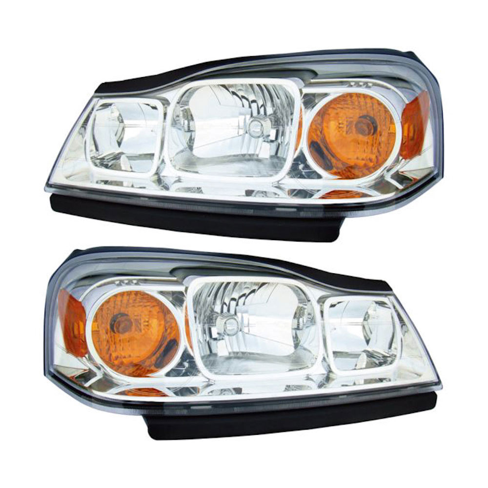 BuyAutoParts 16-80781A9 Headlight Assembly Pair