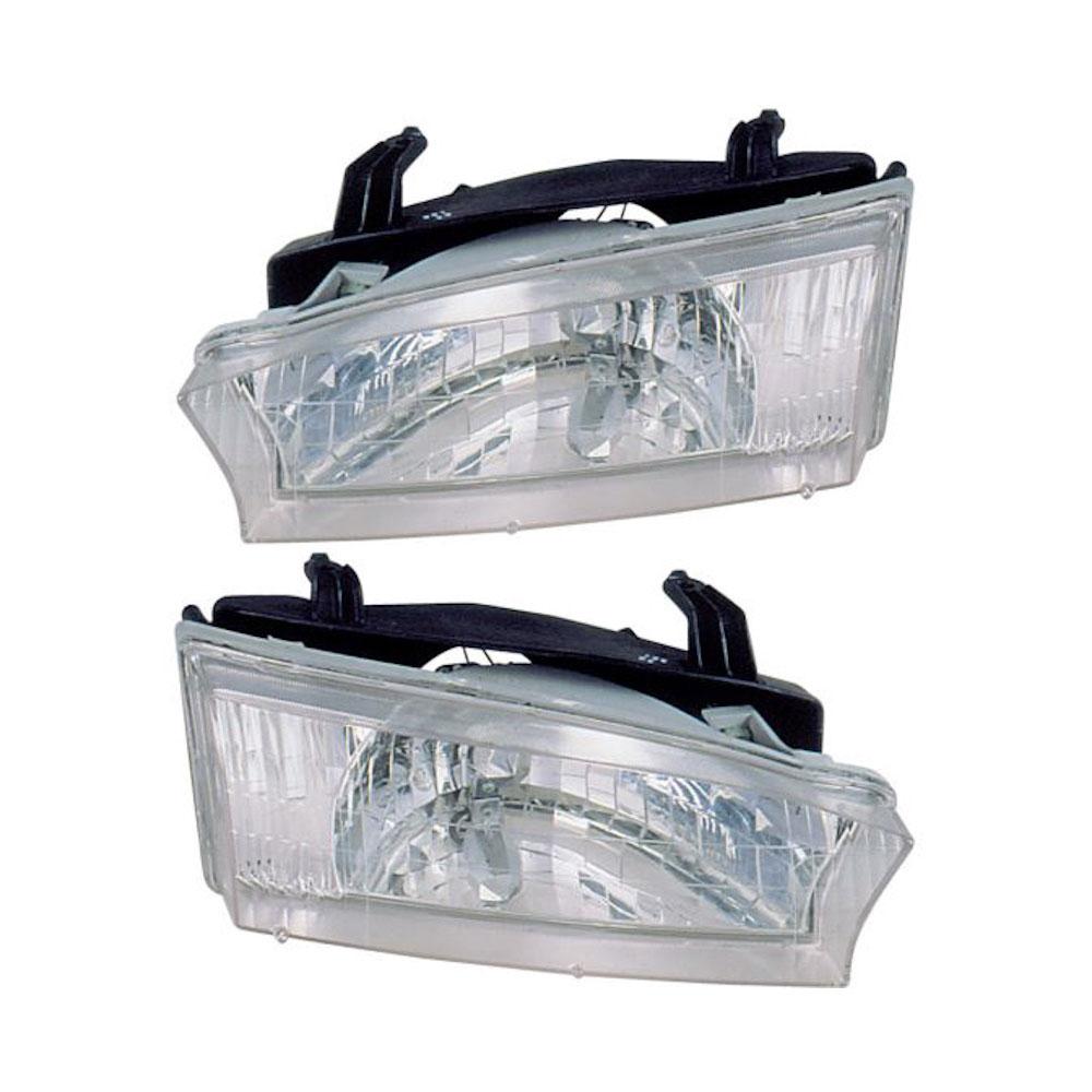 Subaru Outback Headlight Assembly Pair