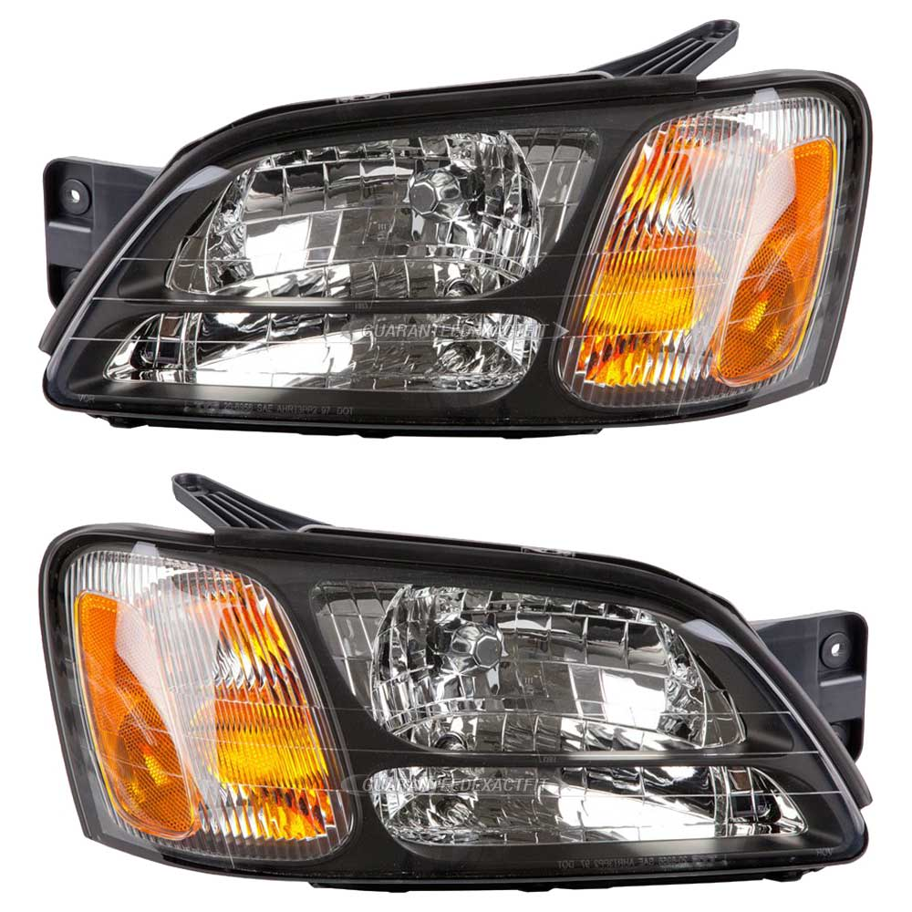 Subaru Outback Headlight Assembly Pair