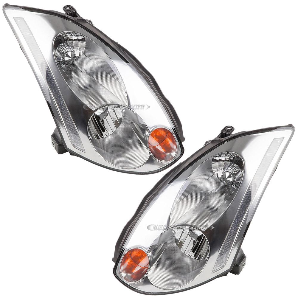 Infiniti headlight assembly