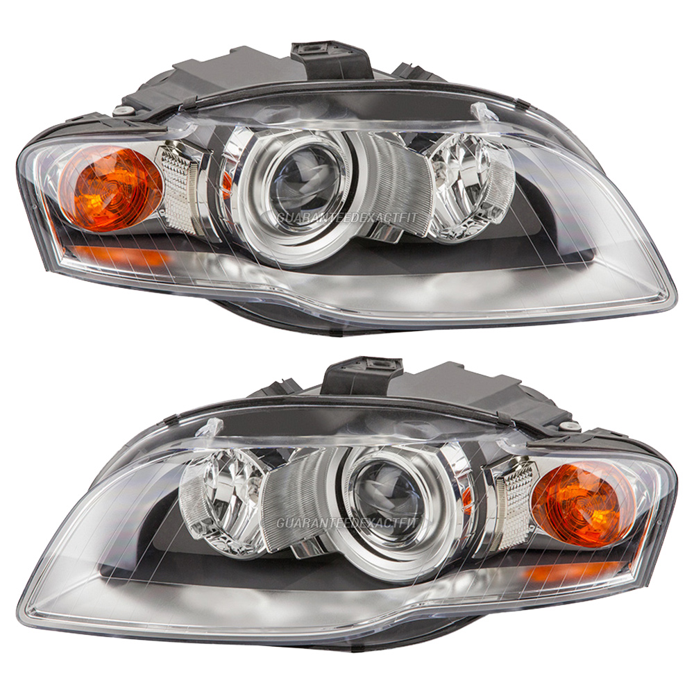 Audi rs4 headlight assembly pair