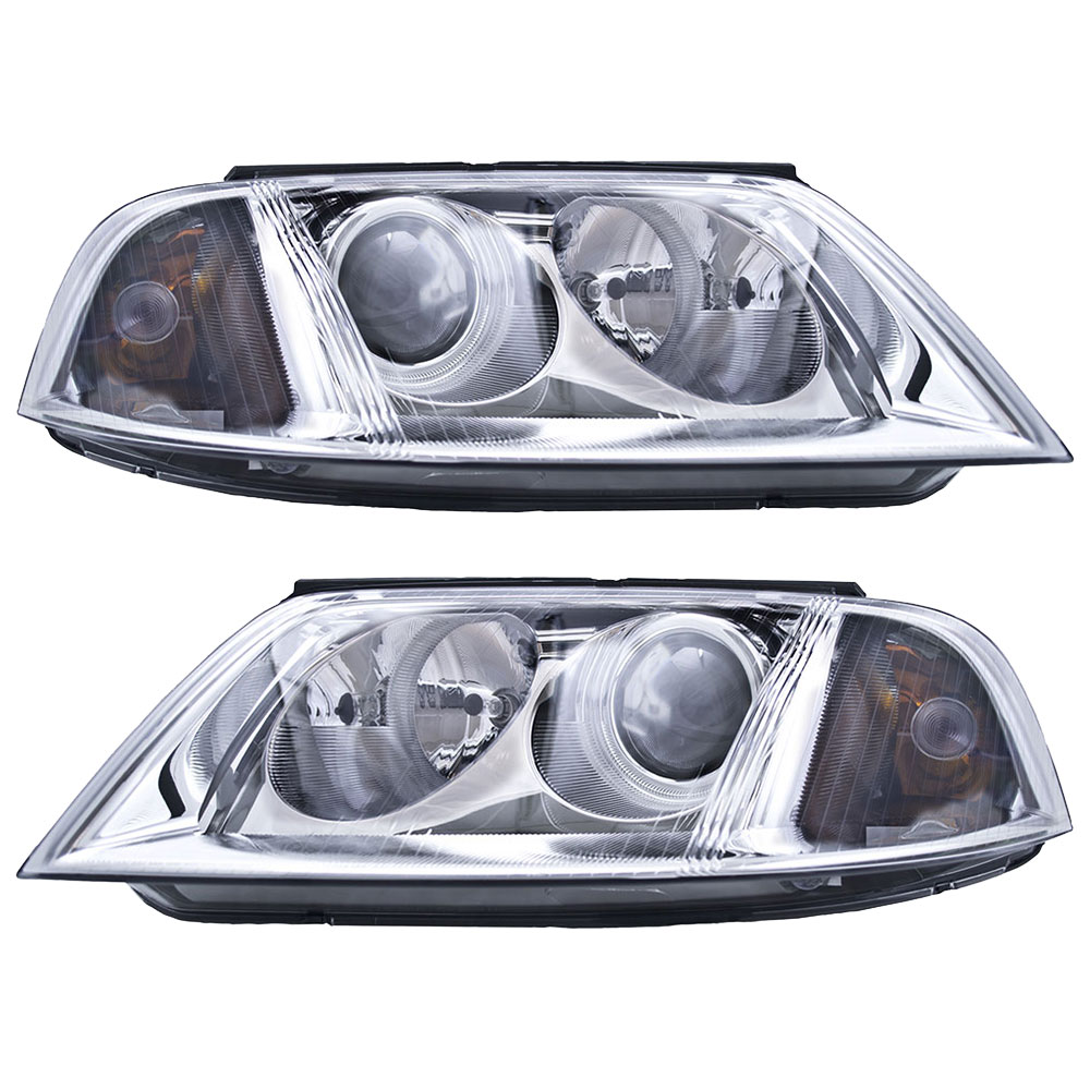 BuyAutoParts 16-80980H2 Headlight Assembly Pair