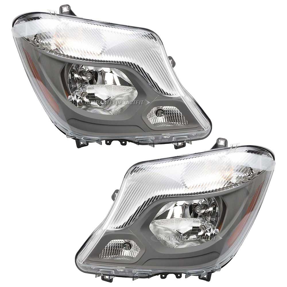 Mercedes_Benz Sprinter Van Headlight Assembly Pair