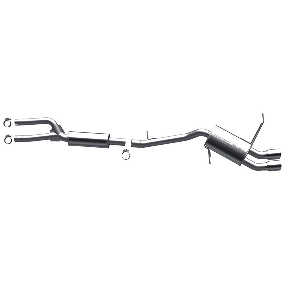 BMW 328 Cat Back Performance Exhaust