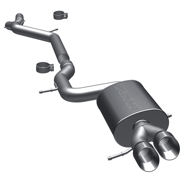Audi S4 Cat Back Performance Exhaust