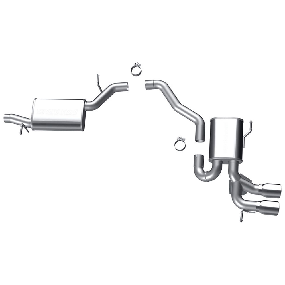 Cat Back Performance Exhaust 46-60018 CM