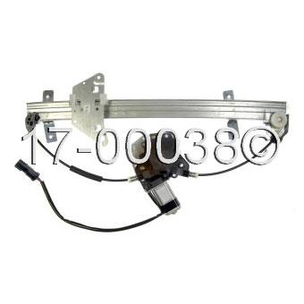 Dodge durango window regulator with motor parts view for 2002 dodge durango window regulator replacement
