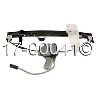 Jeep  Window Regulator with Motor
