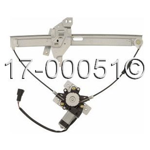Chevrolet Impala Window Regulator with Motor