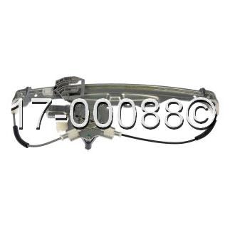 Buick Allure Window Regulator with Motor