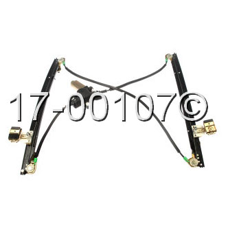 Chrysler  Window Regulator with Motor