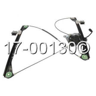 Pontiac Aztek Window Regulator with Motor