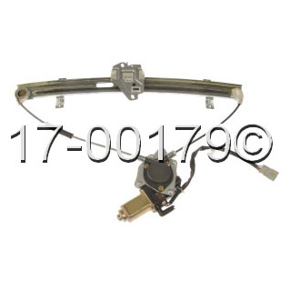 Honda  Window Regulator with Motor
