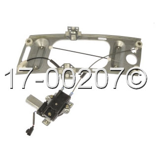 Chevrolet Monte Carlo Window Regulator with Motor