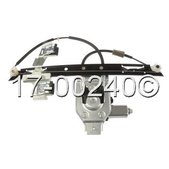 Isuzu Ascender Window Regulator with Motor