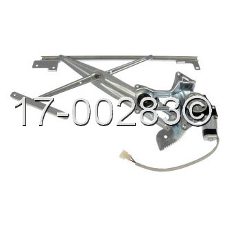 Window Regulator with Motor 17-00283 AN