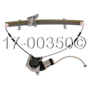 Chevrolet Tracker Window Regulator with Motor