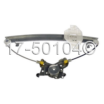 Hyundai Sonata Window Regulator Only