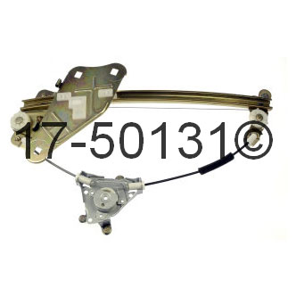 Hyundai Tiburon Window Regulator Only
