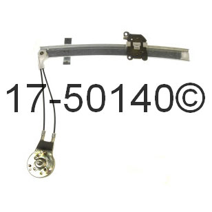 Mazda 323 Window Regulator Only