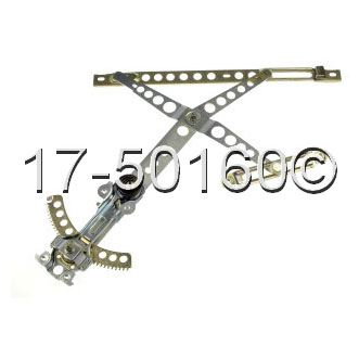 Mercedes Benz 230 Window Regulator Only