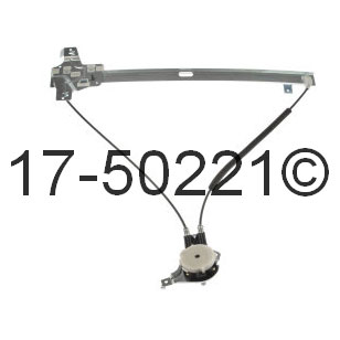 Ford E Series Van Window Regulator Only