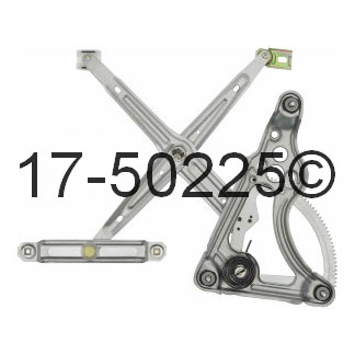 Mercedes_Benz 300SDL Window Regulator Only