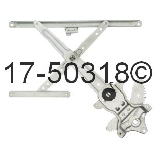 Window Regulator Only 17-50318 AN