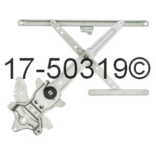 Window Regulator Only 17-50319 AN
