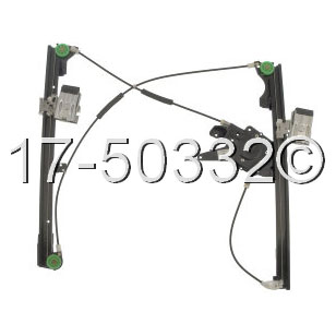 Volkswagen Jetta Window Regulator Only