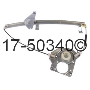 Isuzu Rodeo Window Regulator Only