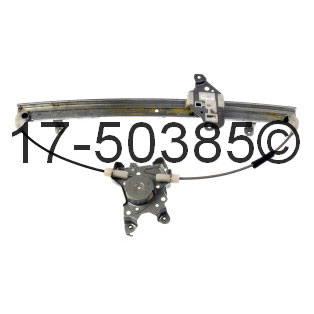 Nissan Frontier Window Regulator Only