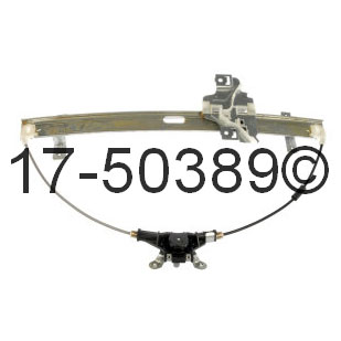 Isuzu Amigo Window Regulator Only
