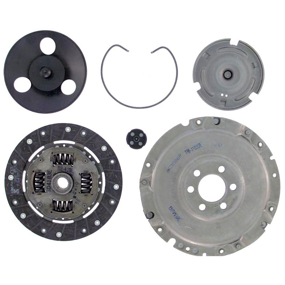 Volkswagen Replacement Parts : Volkswagen rabbit clutch kit oem aftermarket